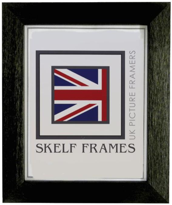 Black Wide Driftwood Frame
