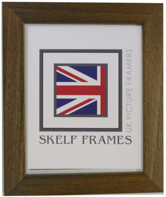 Brown Wide Driftwood Frame