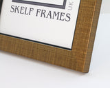 Gold Cross Hatch, A3, A4 & A5 Size Frame