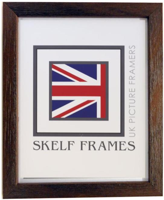 Brown Thin Driftwood Frame