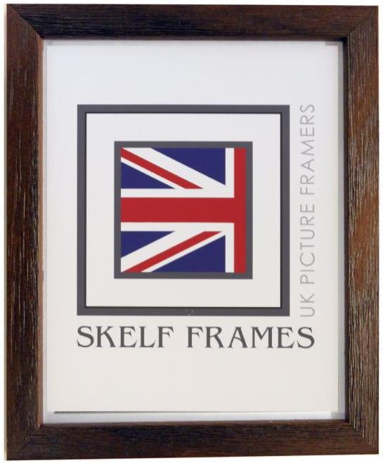 Brown Thin Driftwood Frame - Metric
