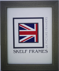 Flat Brushed Grey Frame