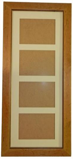 Antique Distressed Pine 26 x 10 Frame
