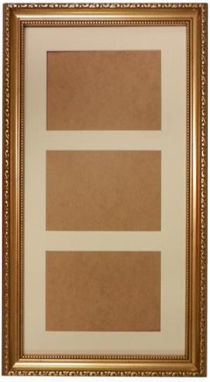 20 x 10 Ornate Gold Frame