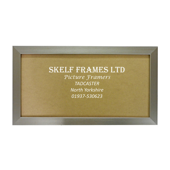Panoramic Pewter Frame