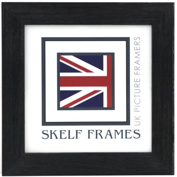 Nearly Black Wide Driftwood Square Frame (this frame has brown tinge in some light)