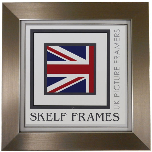 Brushed Pewter Square Frame