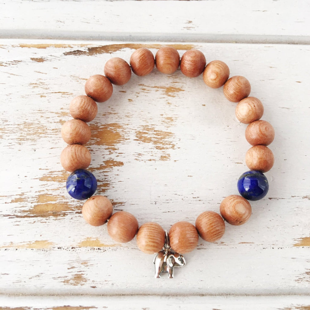 Lapis Lazuli Bracelet - I Am Calm & Collected