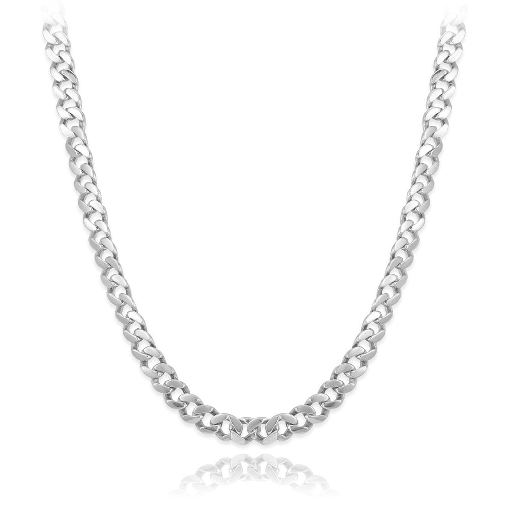 Cuban Curb Link Chain Necklace