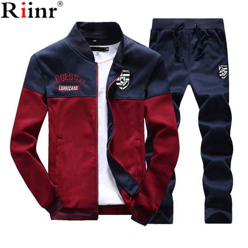 Sporting Tracksuit Set - 5 Colors