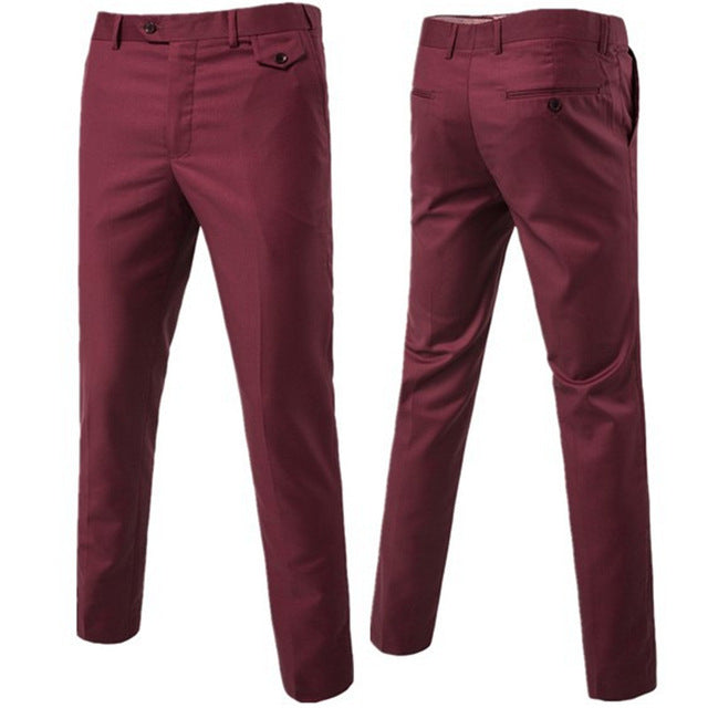Formal Suit Pants - 9 Colors