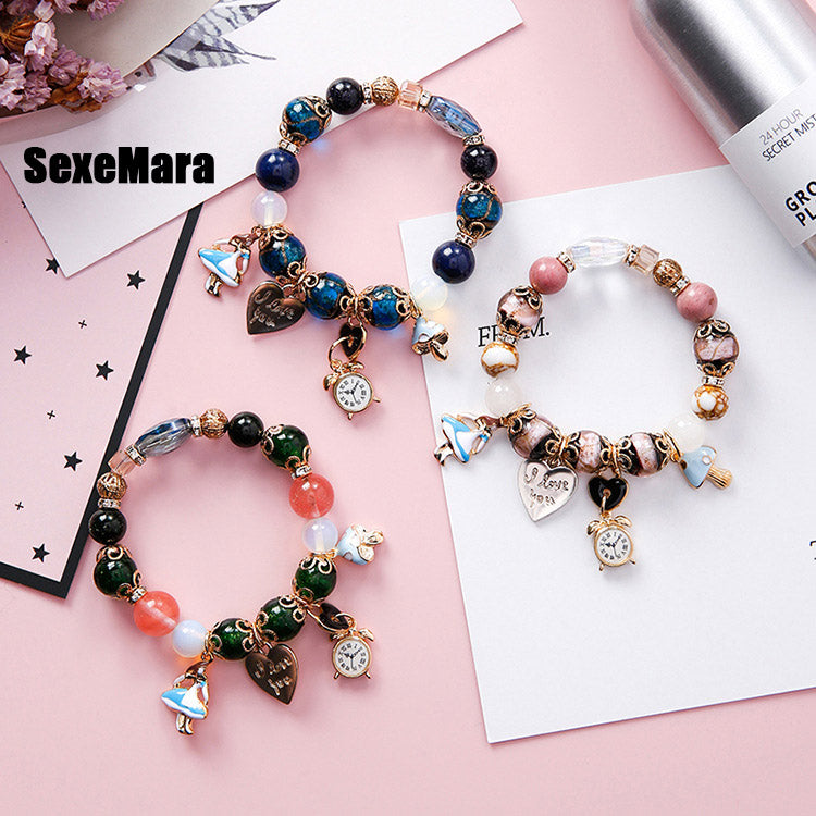 Bohemian Folk Style Colorful Beads Bracelet - 4 Designs