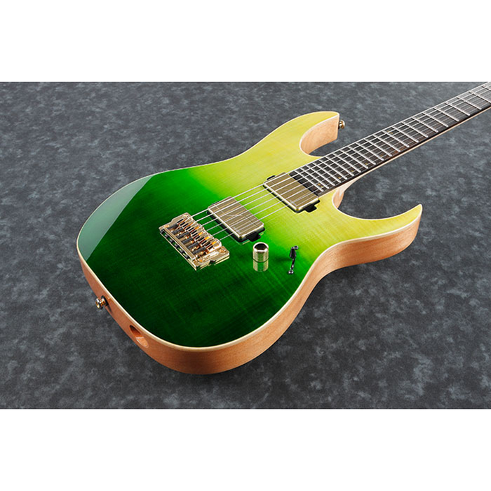 Ibanez LHM1 TGG Luke Hoskin Signature - Transparent Green Gradation