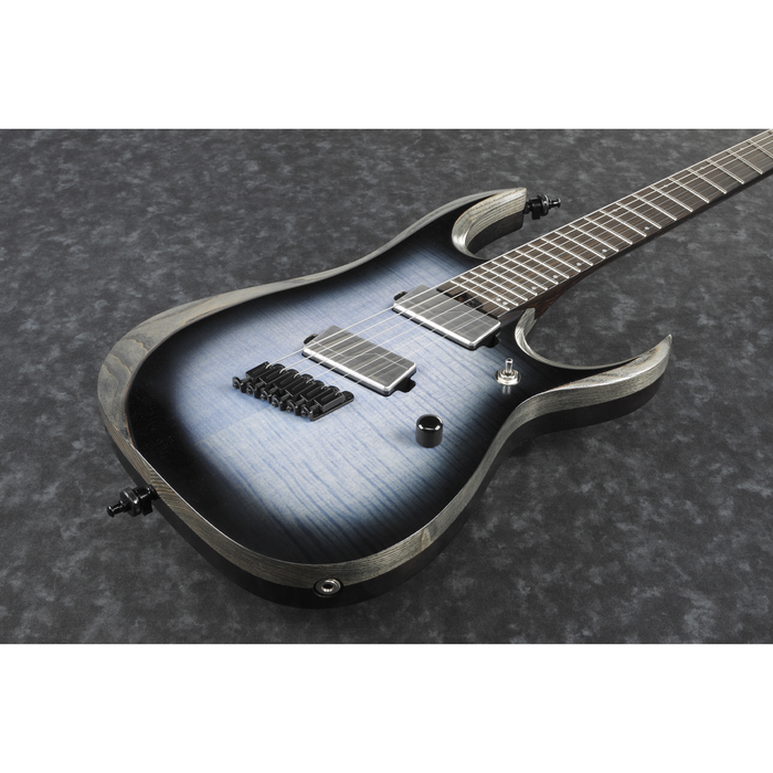 Ibanez RGD61ALMS Axion Label Multi Scale - Cerulean Blue Burst