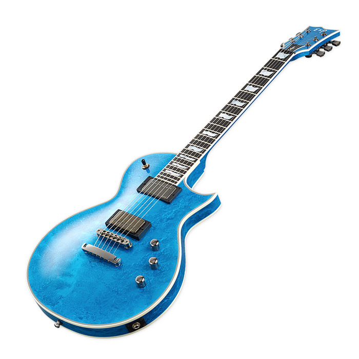 ESP Original Eclipse Custom - Blue Liquid Metal