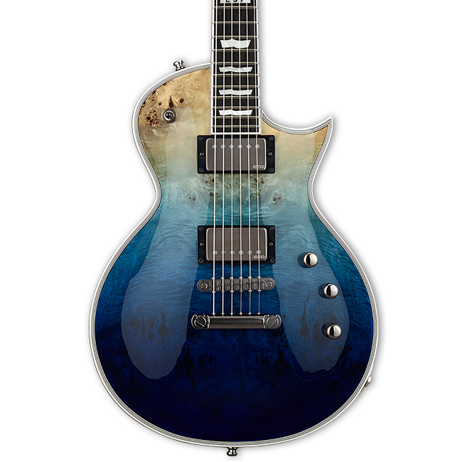 ESP E-II Eclipse - Blue Natural Fade