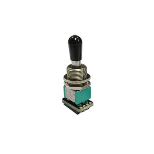 EMG Solderless Compact Les Paul Style Toggle Switch - Black Tip