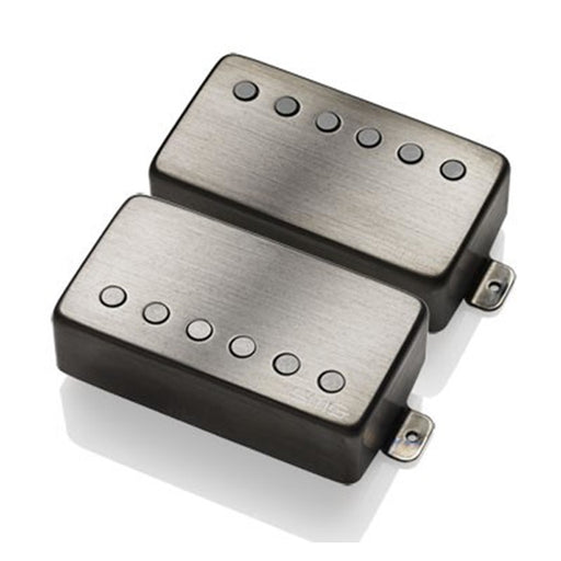 EMG 57/66 Active Humbucking Pickup Set - Brushed Black Chrome