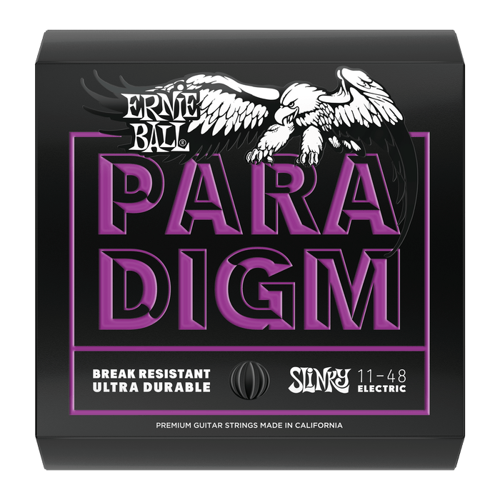 Ernie Ball Paradigm Power Slinky Electric Guitar Strings - 11-48 Gauge