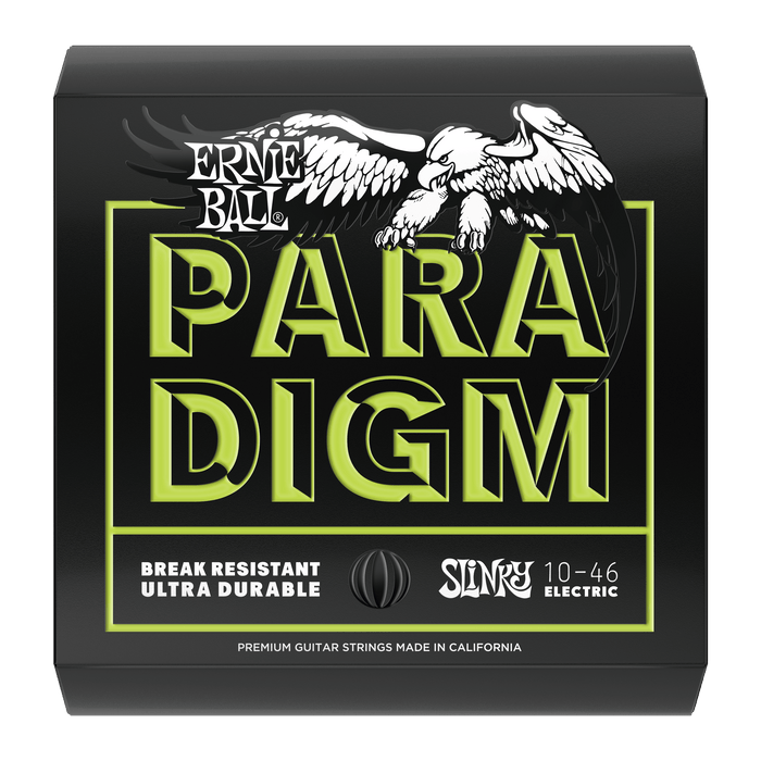 Ernie Ball Paradigm Regular Slinky Electric Guitar Strings - 10-46 Gauge