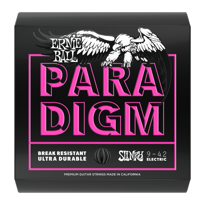 Ernie Ball Paradigm Super Slinky Electric Guitar Strings - 9-42 Gauge