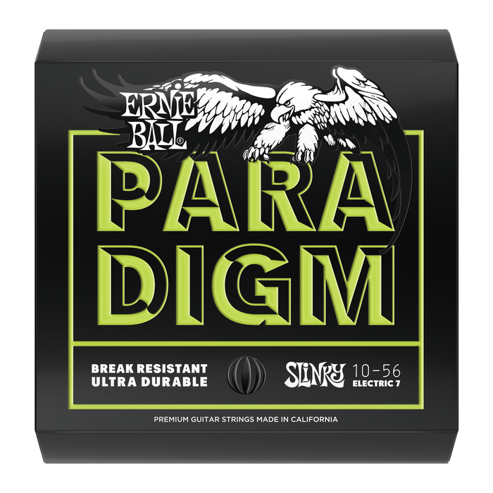 Ernie Ball Paradigm Regular Slinky 7-String Electric Guitar Strings - 10-56 Gauge