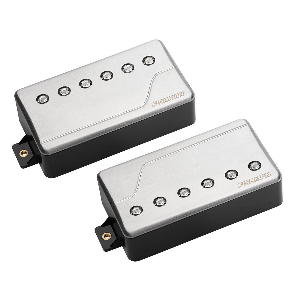 Fishman Fluence Classic Pickup Set - Brushed Stainless