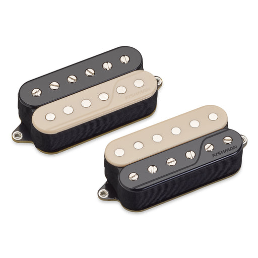 Fishman Fluence Open Core Classic Humbucker Pickup Set - Reverse Zebra
