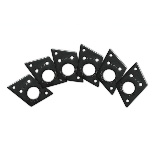 Graph Tech Ratio InvisoMatch Premium Mounting Plates For F Style Screw Hole - Black
