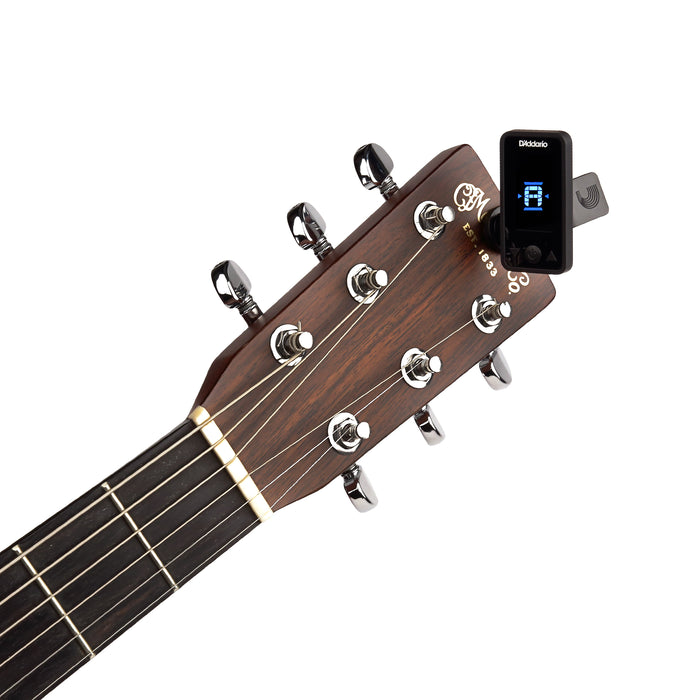 D'Addario Planet Waves Eclipse Headstock Tuner - Black