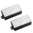 Fishman Fluence Modern Pickup Set - Brushed Stainless