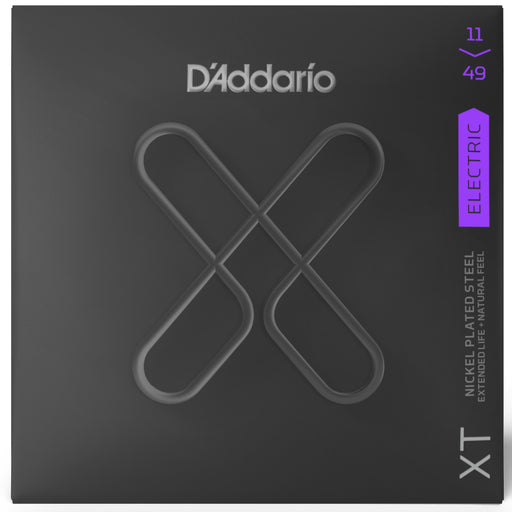 D'Addario XTE1149 Medium Nickel Plated Steel Electric Guitar Strings 11-49 Gauge