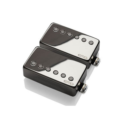 EMG 57/66 Active Humbucking Pickup Set - Black Chrome
