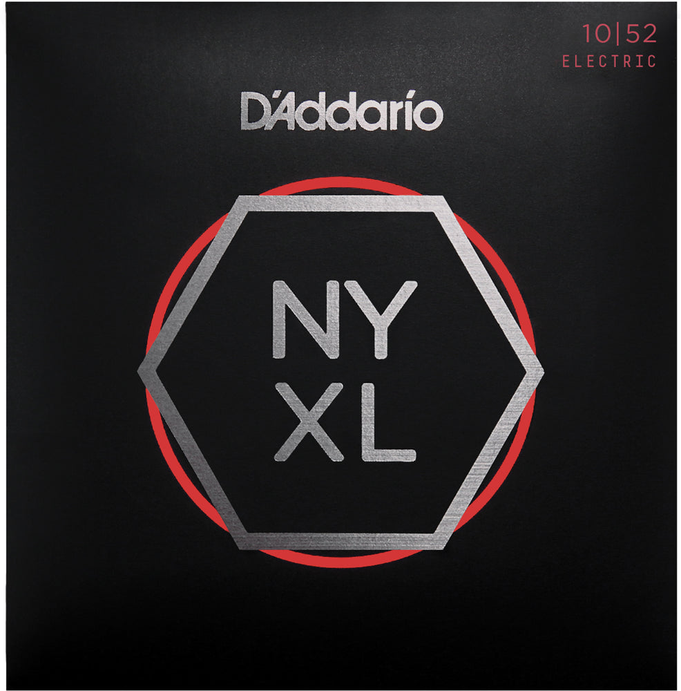 D'Addario NYXL1052 Light Top Heavy Bottom Nickel Wound Electric Guitar Strings - 10-52 Gauge