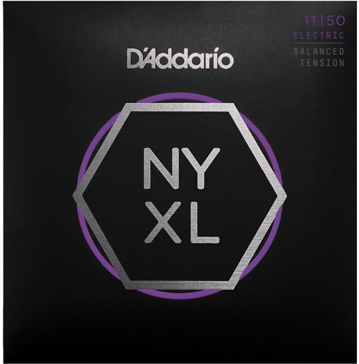 D'Addario NYXL1150BT Medium Nickel Wound Electric Guitar Strings - Balanced Tension - 11-50 Gauge