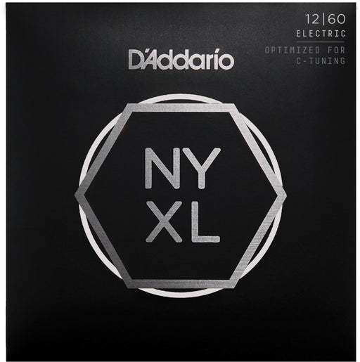 D'Addario NYXL1260 Extra Heavy Nickel Wound Electric Guitar Strings - 12-60 Gauge