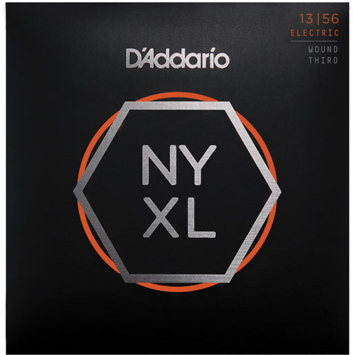 D'Addario NYXL1356W Nickel Wound Electric Guitar Strings - Medium Wound 3rd - 13-56 Gauge
