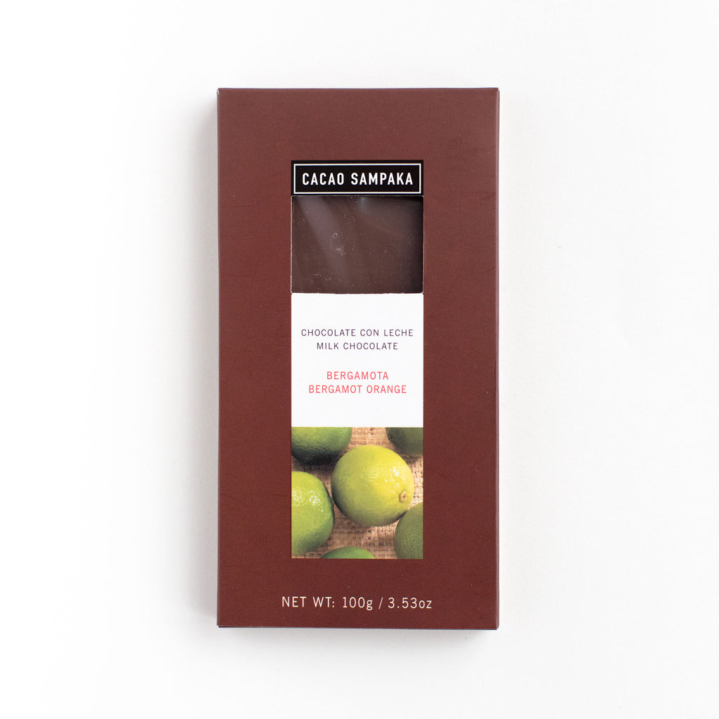 Cacao Sampaka Milk Chocolate Bergamot Orange