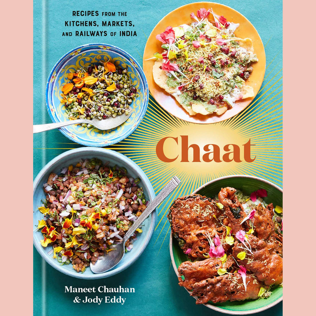 Signed Bookplate - Chaat: Recipes from the Kitchens, Markets, and Railways of India (Maneet Chauhan)