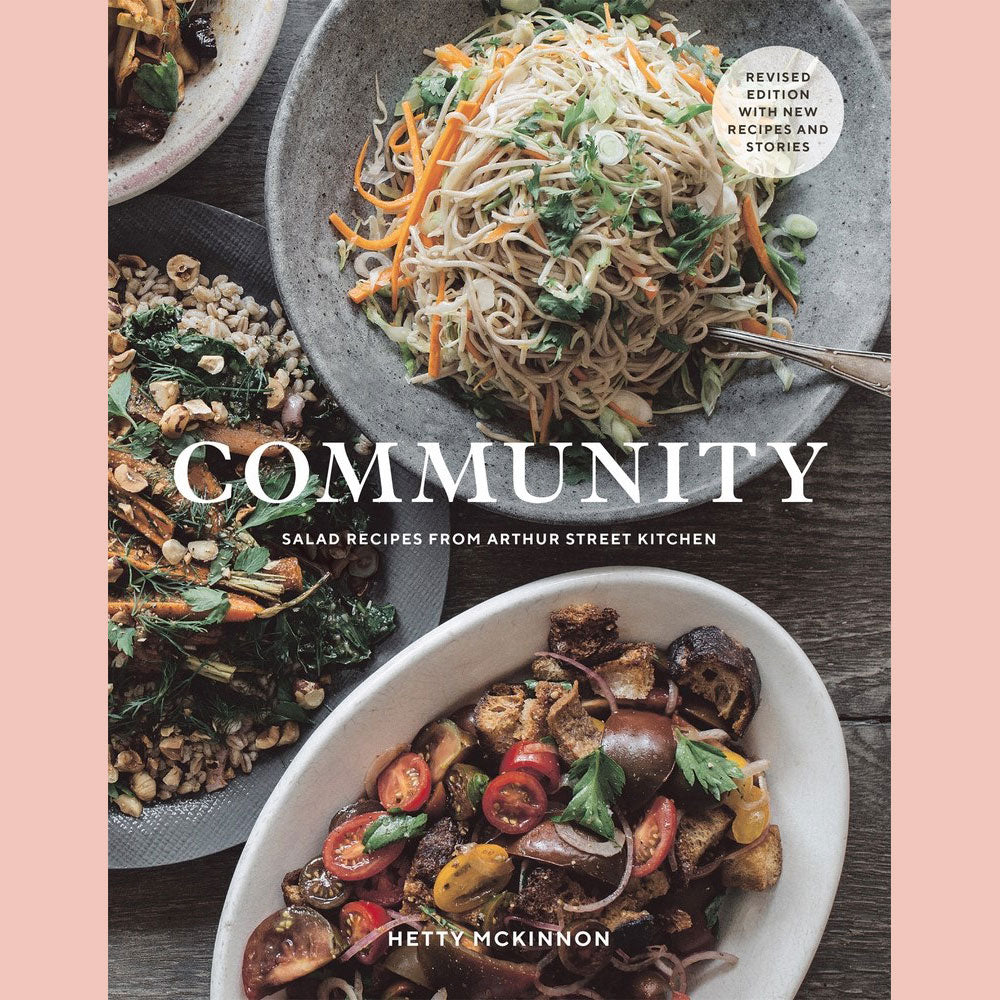 Signed Bookplate - Community: Salad Recipes from Arthur Street Kitchen (Hetty McKinnon)