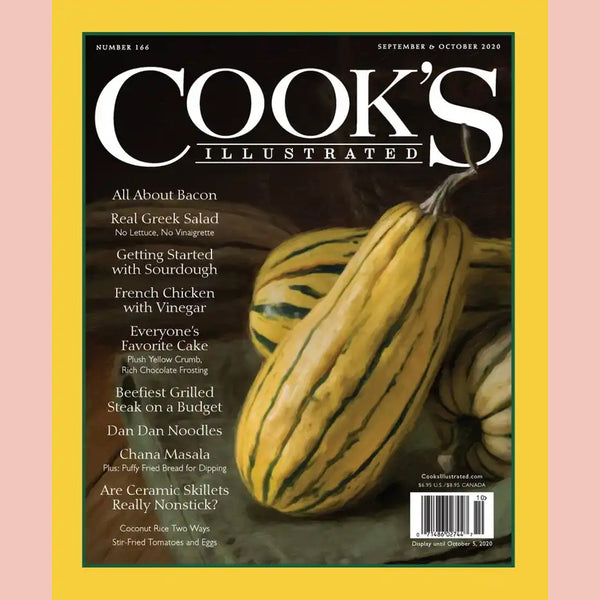 Cook's Illustrated No. 166 September & October 2020