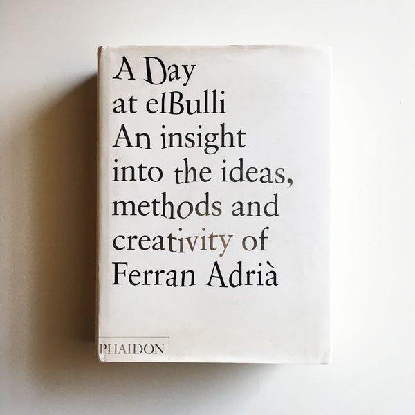 A Day at elBulli (Ferran Adria) Previously Owned