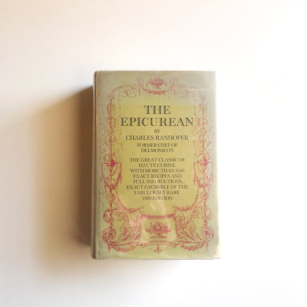 The Epicurean (Charles Ranhofer) Previously Owned