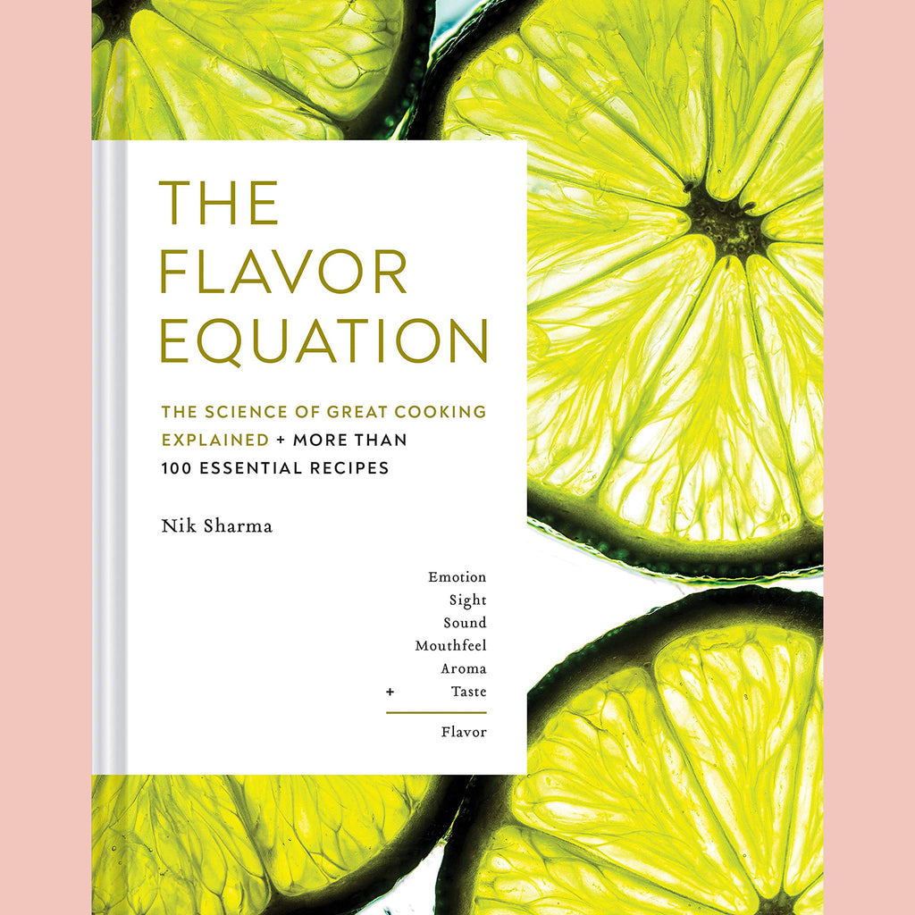 Signed Copy of The Flavor Equation: The Science of Great Cooking Explained in More Than 100 Essential Recipes (Nik Sharma)