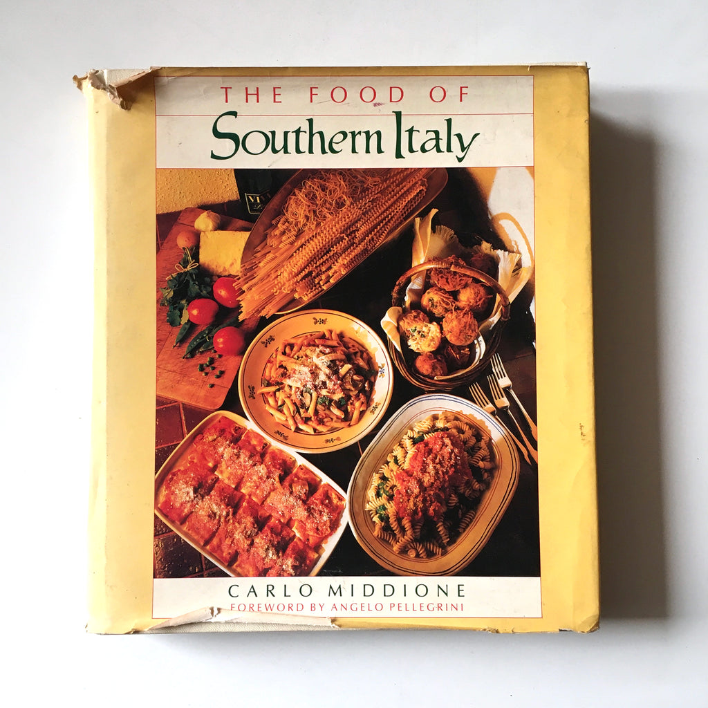 The Food of Southern Italy (Carlo Middione) Previously Owned