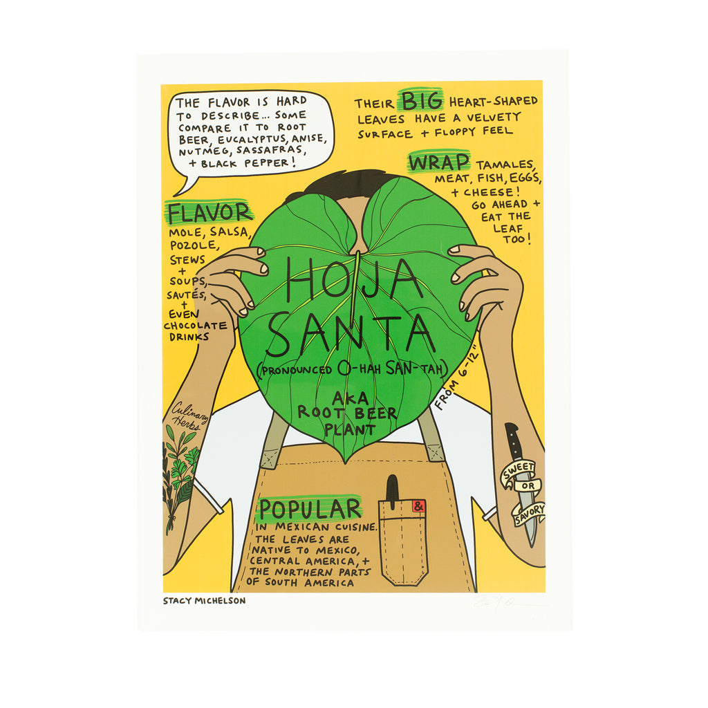 Stacy Michelson Hoja Santa