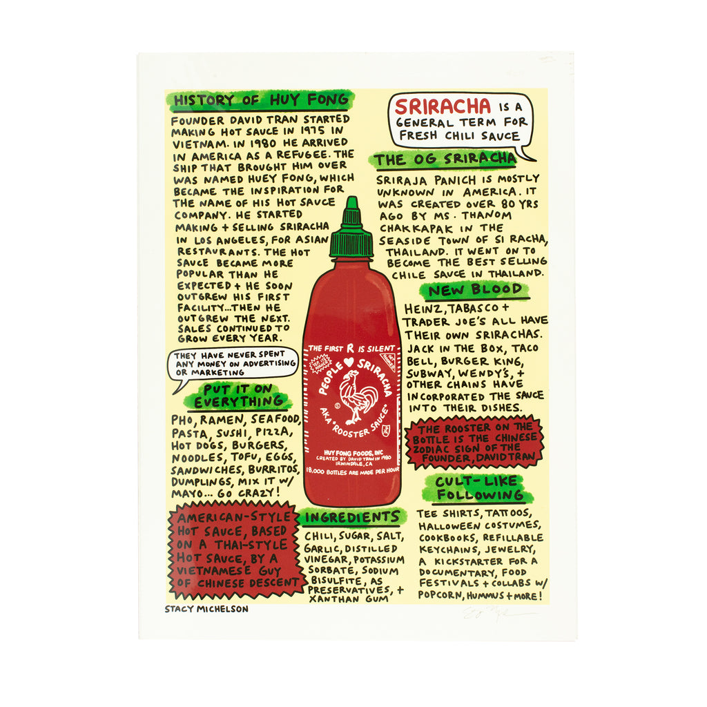 Stacy Michelson Sriracha Print