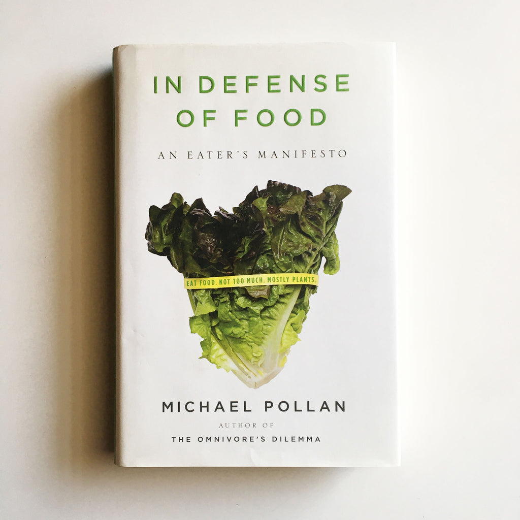 In Defense of Food: An Eater's Manifesto (Michael Pollan) Previously Owned