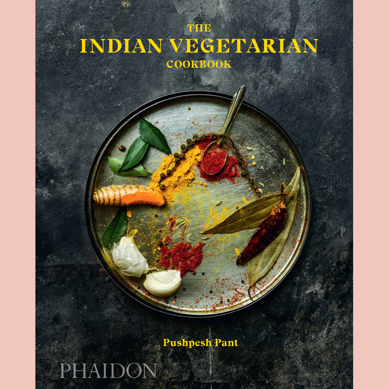 The Indian Vegetarian Cookbook  (Pushpesh Pant)