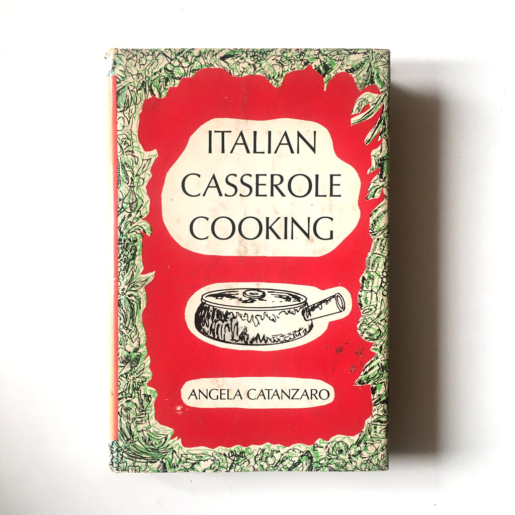 Italian Casserole Cooking (Angela Catanzaro) Previously Owned
